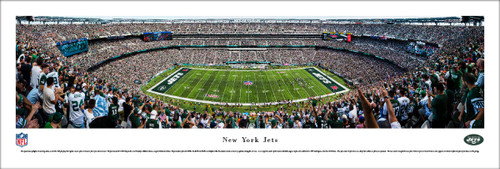 New York Jets at MetLife Stadium Panoramic Poster