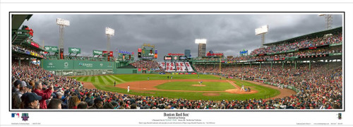 """""""Farewell at Fenway"""" Big Papi Day Panoramic Framed Poster"""
