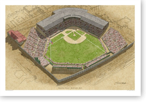 Braves Field - Boston Braves Print