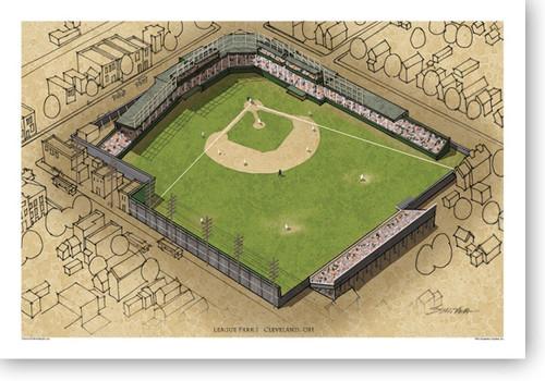 League Park I - Cleveland Indians Print