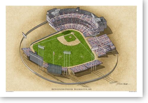 Metropolitan Stadium (early) - Minnesota Twins  Print