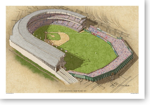 Polo Grounds (mid era) - New York Giants  Print