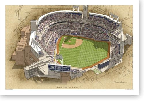Petco Park - San Diego Padres  Print