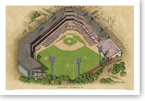 Forbes Field - Pittsburgh Pirates  Print