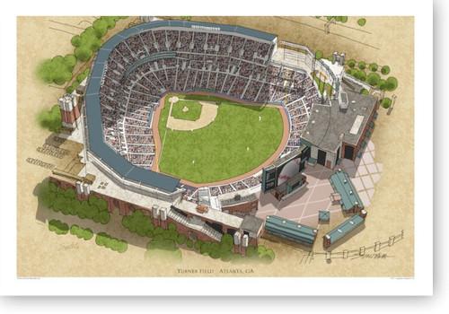 Turner Field - Atlanta Braves Print