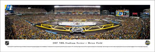 2017 NHL Stadium Series - Heinz Field Panoramic Poster