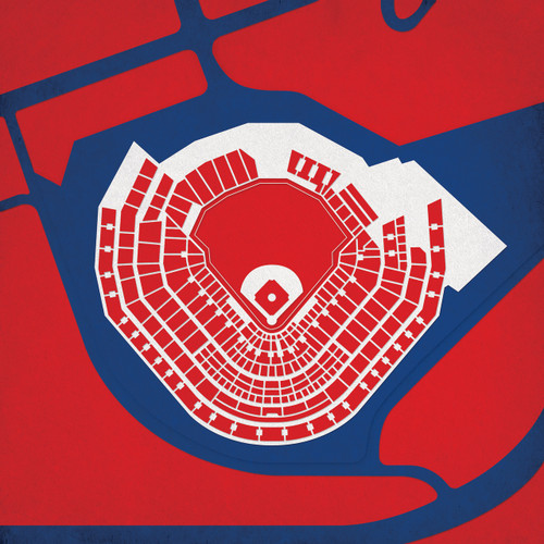 SunTrust Park - Atlanta Braves  City Print Poster