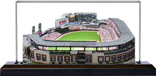 Truist Park Atlanta Braves 3D Replica Stadium
