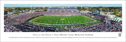 Navy Midshipmen at Navy-Marine Corps Memorial Stadium Panorama Poster