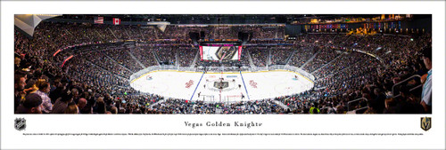Vegas Golden Knights at T-Mobile Arena Panoramic Poster