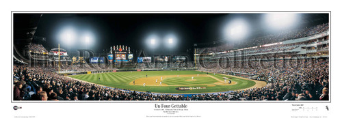 """Chicago White Sox """"Un-Four-Gettable"""" 2005 World Series Panoramic Framed Poster"""
