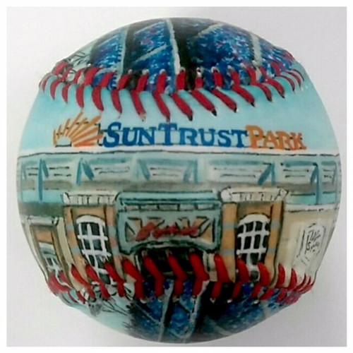 SunTrust Park Stadium Baseball