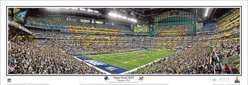 """Super Bowl XLVI"" New York Giants Panoramic Poster"