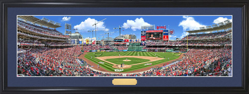 "Washington Nationals ""Opening Day"" at Nationals Park Panoramic Poster"