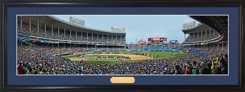 "Cleveland Indians ""Last Opening Day"" Cleveland Municipal Stadium Panoramic Poster"
