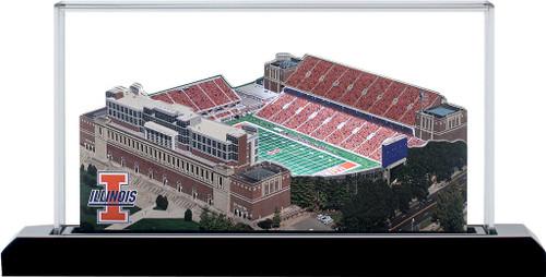 Illinois Fighting Illini - Memorial Stadium 3D Stadium Replica