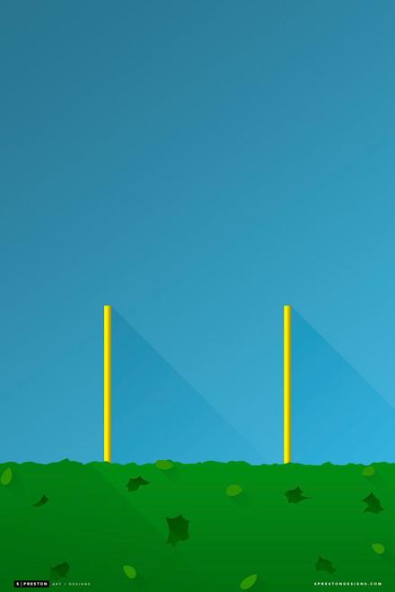 Georgia Bulldogs - Sanford Stadium Simple Print