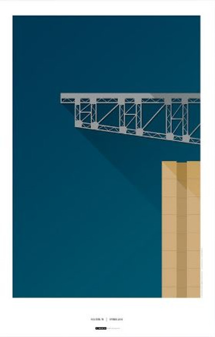 Houston Texas - NRG Stadium Art Poster