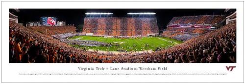 Virginia Tech Hokies at Lane Stadium Panoramic Poster