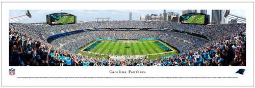 Carolina Panthers at Bank of America Stadium Panoramic Poster