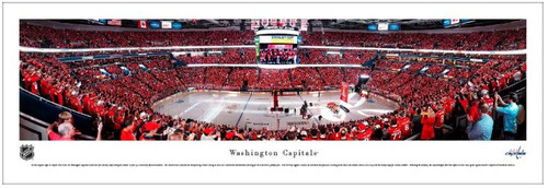 Washington Capitals at Capital One Arena Panoramic Poster