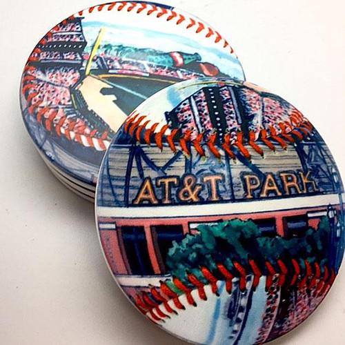 AT&T Park Coaster Set