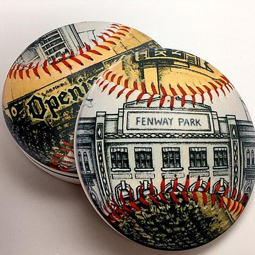 Fenway Park Park Coaster Set