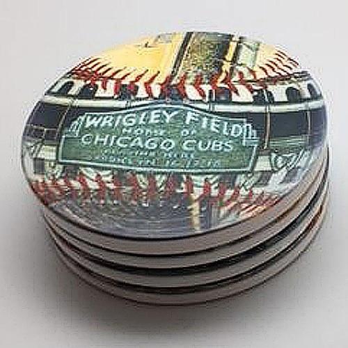 Wrigley Field Park Coaster Set