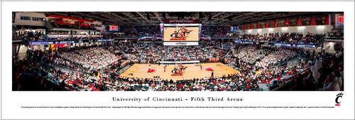 Cincinnati Bearcats vs Ohio State Buckeyes at the Fifth Third Arena Panoramic Poster
