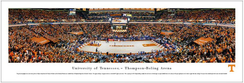 Tennessee Volunteers at Thompson-Boling Arena Panoramic Poster