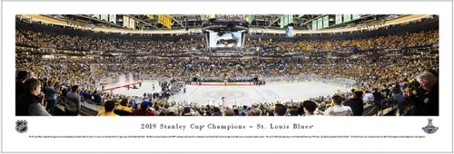 2019 NHL Stanley Cup Champions - St. Louis Blues Panoramic Poster