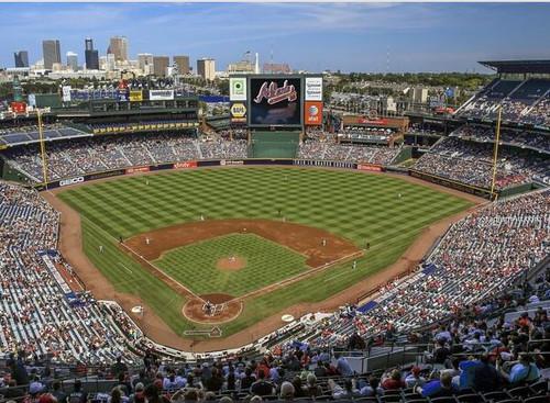 Atlanta Braves at Turner Field Print