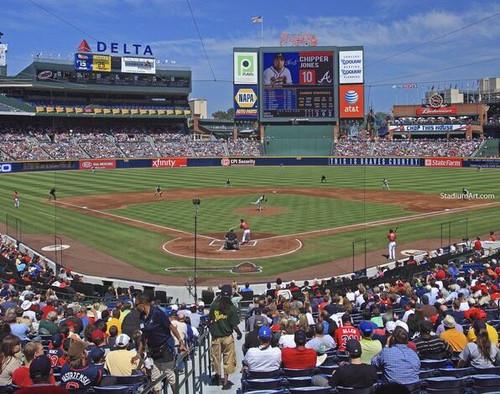 Atlanta Braves at Turner Field Lower Deck Print