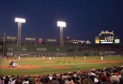 Boston Red Sox at Fenway Park Lower Deck Print