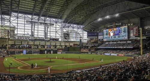Houston Astros at Minute Maid Park Print
