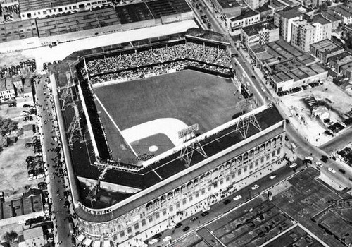 Brooklyn Dodgers at Ebbets Field Aerial Print II