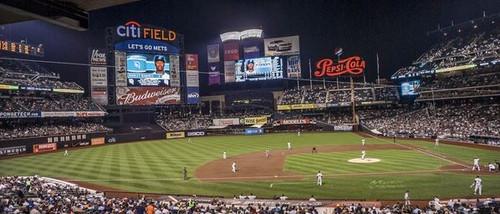 New York Mets at Citi Field Lower Deck Print