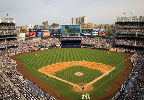 New York Yankees at Yankee Stadium Print