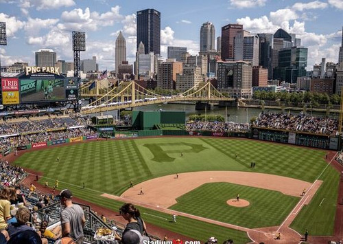 Pittsburgh Pirates at PNC Park Upper Deck Print