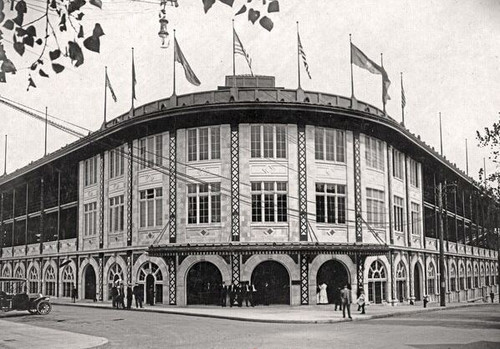 Pittsburgh Pirates at Forbes Field Print