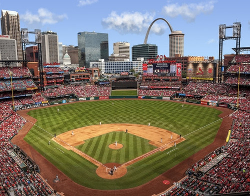 St. Louis Cardinals at Busch Stadium Print
