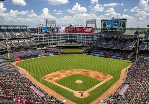 Texas Rangers at Globe Life Park Print
