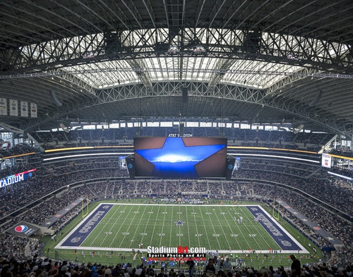 Dallas Cowboys at AT&T Stadium Print