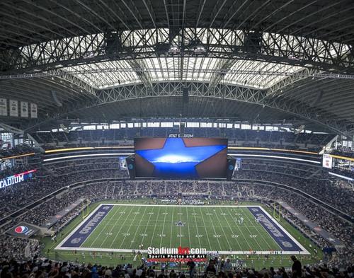 Dallas Cowboys at AT&T Stadium Print