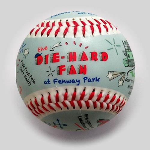 Fenway Park Die-Hard Fan Baseball
