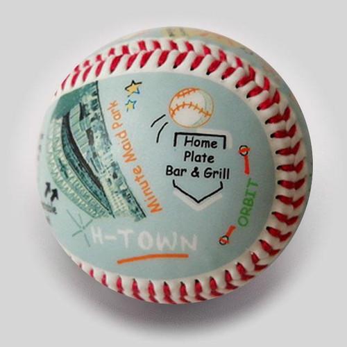 Minute Maid Park Die-Hard Fan Baseball