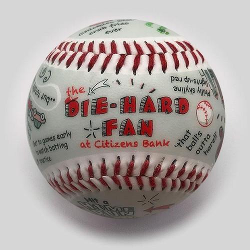 Citizens Bank Park Die-Hard Fan Baseball