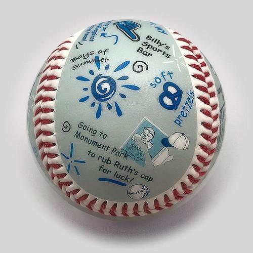 Yankee Stadium Die-Hard Fan Baseball