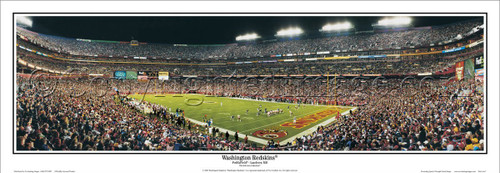 """Washington Redskins"" FedEx Field Panoramic Poster"