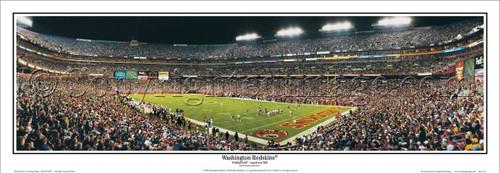 """Washington Redskins"" FedEx Field Panoramic Poster"